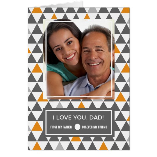 For Father on Father's Day. Custom Photo Cards