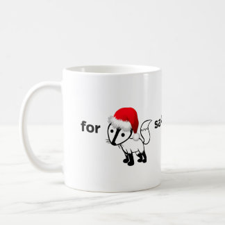 For Fox Sake Coffee Mug | Christmas Edition!!