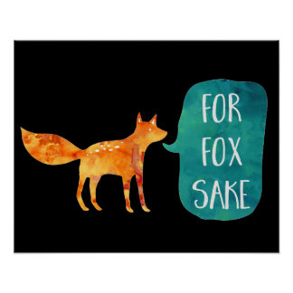 For Fox Sake Poster