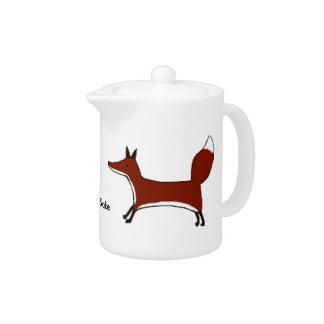 For Fox Sake - Teapot