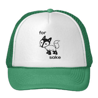 For Fox Sake Trucker Hat