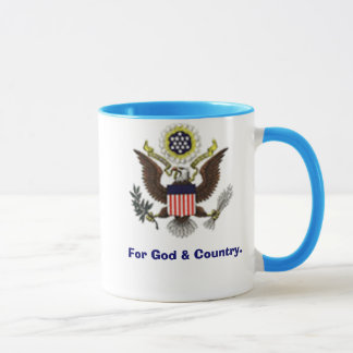 For God and Country Mug