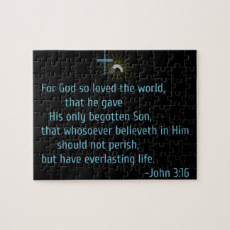 For God So Loved the World Jigsaw Puzzle