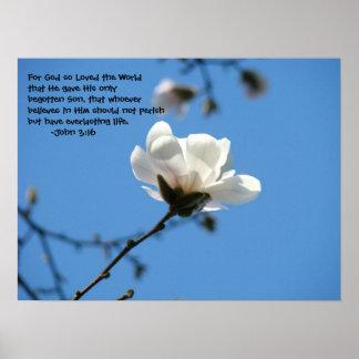 For God So Loved the World John 3:16 art prints Print