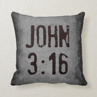 For God So Loved the World...John 3:16 Cushion