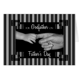 for Godfather on Father s Day Greeting Card