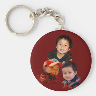 For Grandma Basic Round Button Key Ring