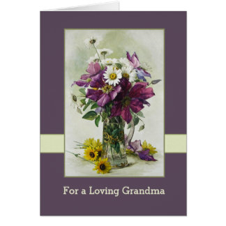 Mothers day grandmother cards invitations for What to get grandma for mother s day