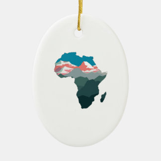 FOR GREAT AFRICA CERAMIC ORNAMENT
