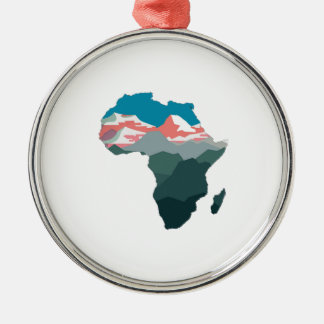 FOR GREAT AFRICA METAL ORNAMENT