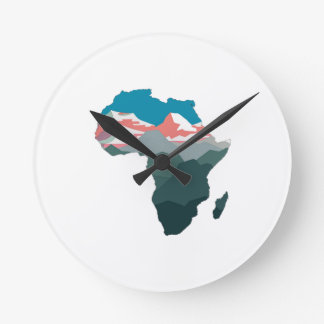 FOR GREAT AFRICA ROUND CLOCK