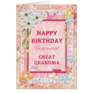 Great grandma gifts t shirts art posters other gift for What to get grandma for her birthday