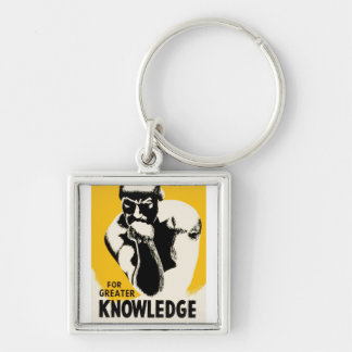 For Greater Knowledge Keychain