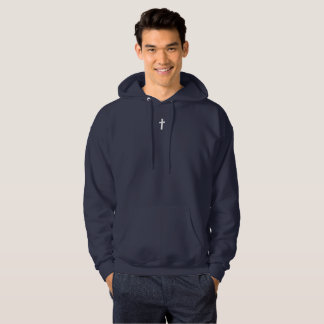 for HIM (adult): cross Hoodie