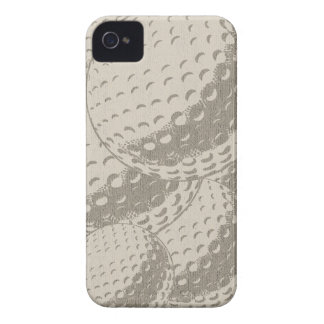 For Him Modern Graphic Golf ball iPhone Case-Mate iPhone 4 Cases