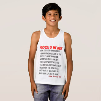 for HIM (youth): Purpose of the Bible Singlet