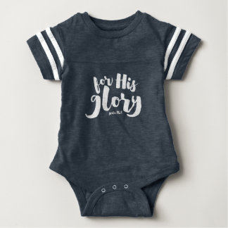 For His Glory Baby and Toddler Shirt