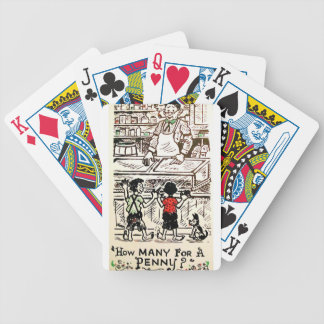 For How many to penny? Bicycle Playing Cards