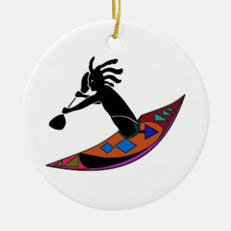 FOR KAYAK VIBES CERAMIC ORNAMENT