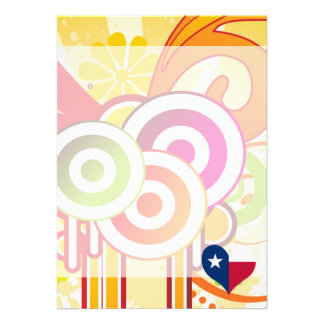 For Kids: Cool Texas 13 Cm X 18 Cm Invitation Card