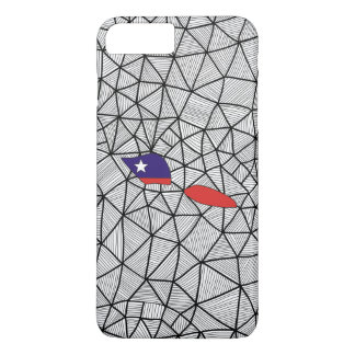 For Kids: Creative Samoa Flag With Map iPhone 7 Plus Case