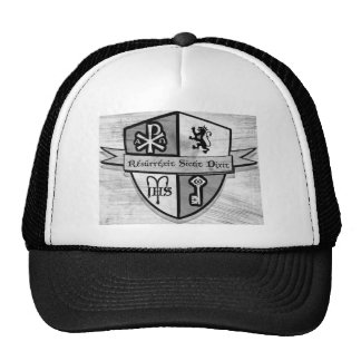 For King and Country Black and White Logo Hats