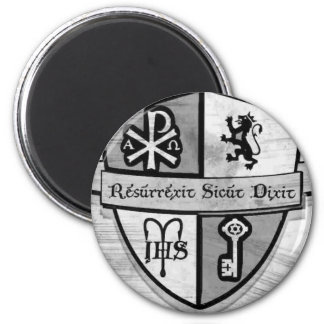 For King and Country Black and White Logo Magnets
