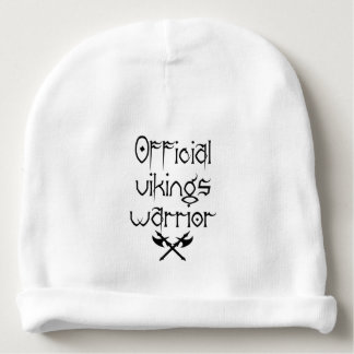 For little warriors baby beanie
