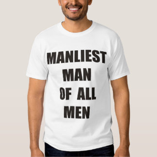 For manly men shirts