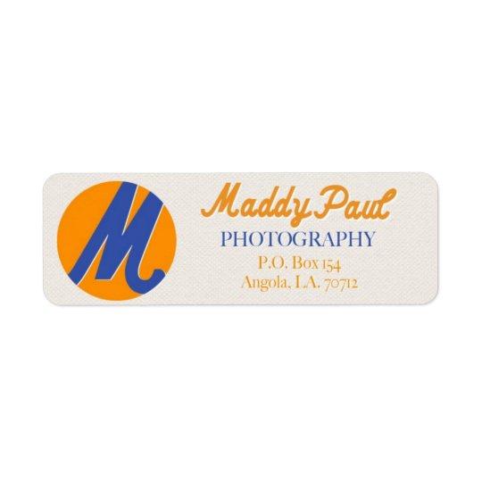 For Michele Return Address Label