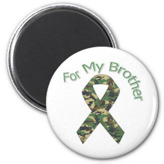 For My Brother Military  Ribbon Fridge Magnet