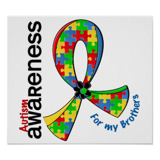 For My Brothers Autism Poster