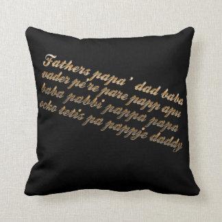 For my dad! cushion