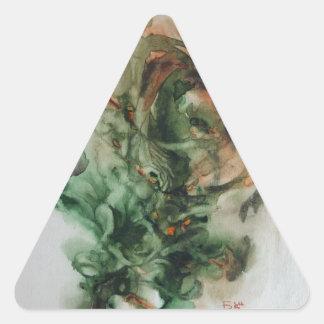 For my Friend O Barabash Triangle Sticker