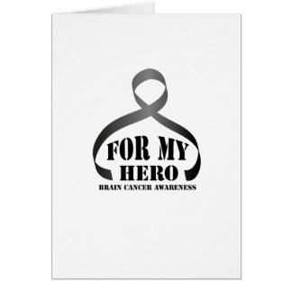 For my Hero Brain Cancer Awareness Gift Card