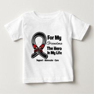 For My Hero My Grandma - Melanoma Skin Cancer T Shirt