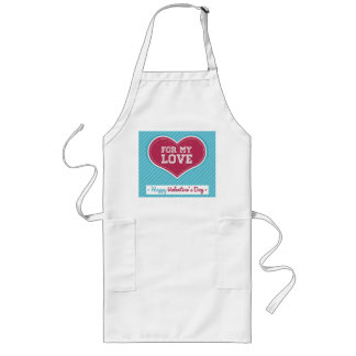 For my love Happy Valentines day Aprons
