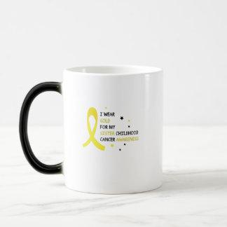 For My Sister childhood cancer awareness Fighting Magic Mug