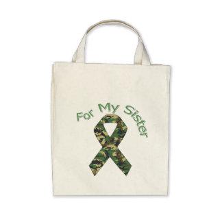 For My Sister Military Ribbon Bag