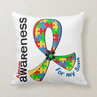 For My Sons Autism Cushion