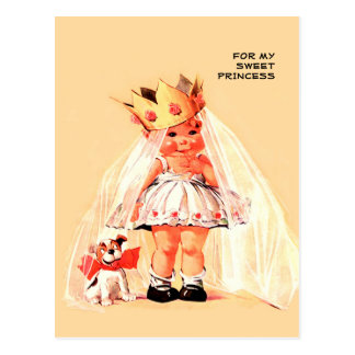 For my Sweet Princess. Valentine's Day Postcards