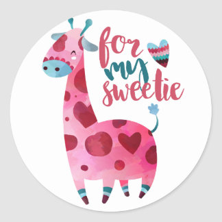 For My Sweetie sticker