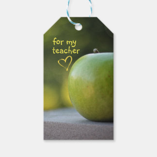 For My Teacher Gift Tags