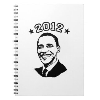 FOR OBAMA 2012 -.png Spiral Note Books