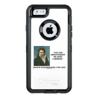 For Our Improvement We Need A Mirror Schopenhauer OtterBox iPhone 6/6s Case