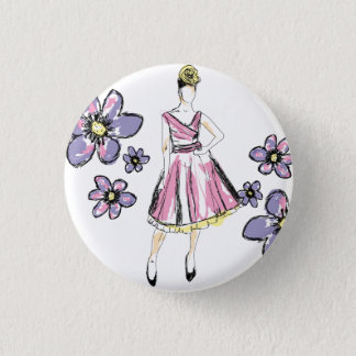 For Passion fashion 3 Cm Round Badge