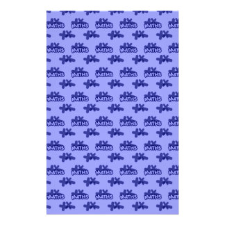 For Perfect gift maths to lover - Blue model Stationery