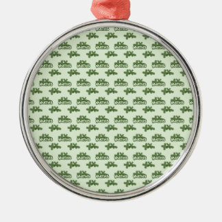 For Perfect gift maths to lover - Green model Metal Ornament