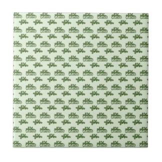 For Perfect gift maths to lover - Green model Tile