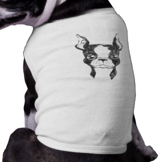 For Pets: Cute Hand Painted Dog Pet Shirt / Tank